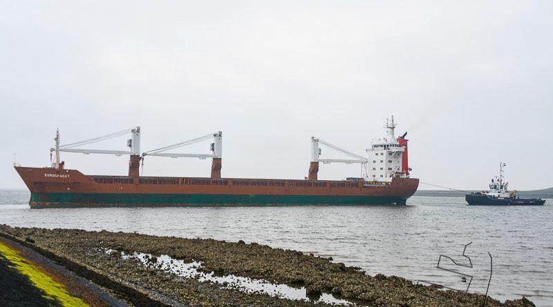 Eurogracht vertrekt vanuit de Eemshaven