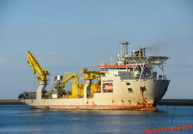 Multi-Purpose vessel Isaac Newton naar Julianahaven