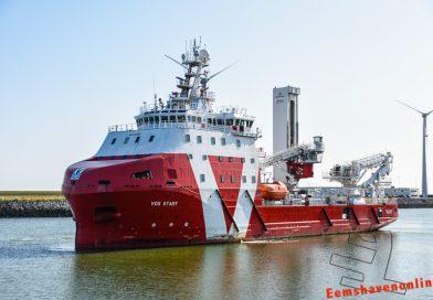 Vos Start na lange tijd terug in de Eemshaven