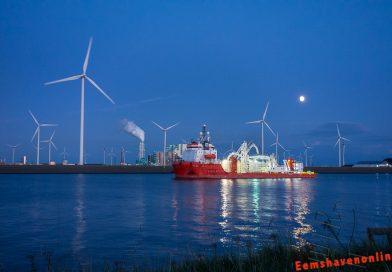 Atalanti vertrekt naar Emden