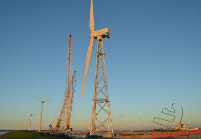 Uit het archief: de bouw van de 2B Energy windturbine