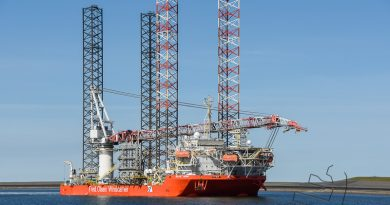 Blue Tern rond bouw van Trianel Borkum II windpark af