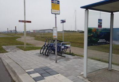 Vanaf nu ook te fiets door de Eemshaven