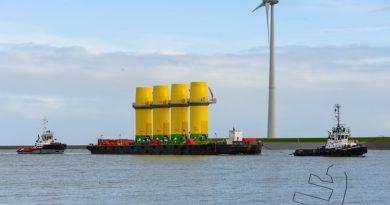 Volop aanvoer voor windpark Hornsea 2