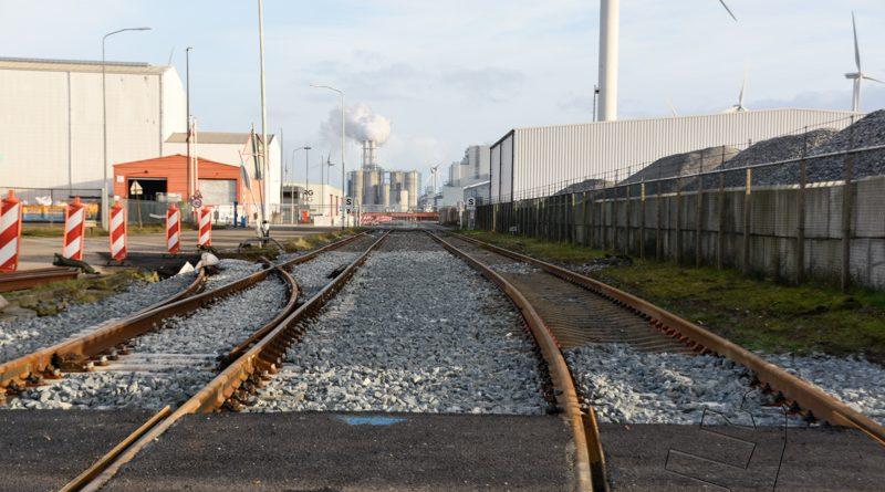 Spoorrenovatie op traject in Eemshaven