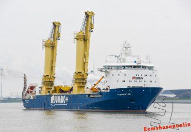 Fairmaster vertrekt vanuit Eemshaven