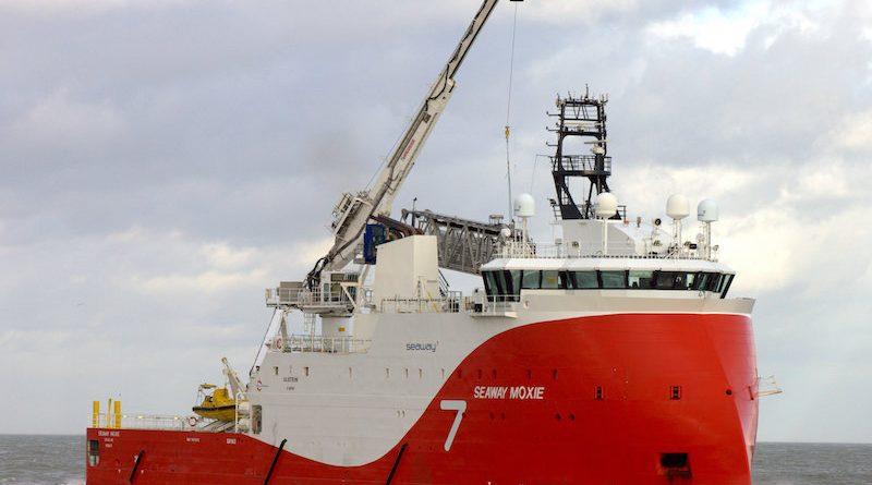 Seaway Moxie wordt SOV voor Beatrice offshore windpark