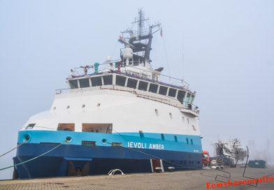Drukte van belang in de Eemshaven, maar geen Odyssey of the Seas