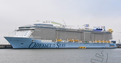 Odyssey of the Seas in volle glorie te bewonderen