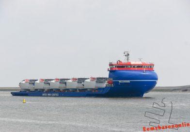 BoldWind komt schuilen in Eemshaven