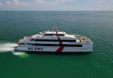 Nieuwe catamaran voor AG EMS